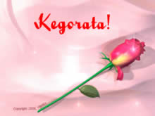 Kegorata, I love you in Sotho