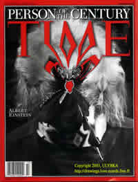 couverture du Time avec Albert Einstein 3