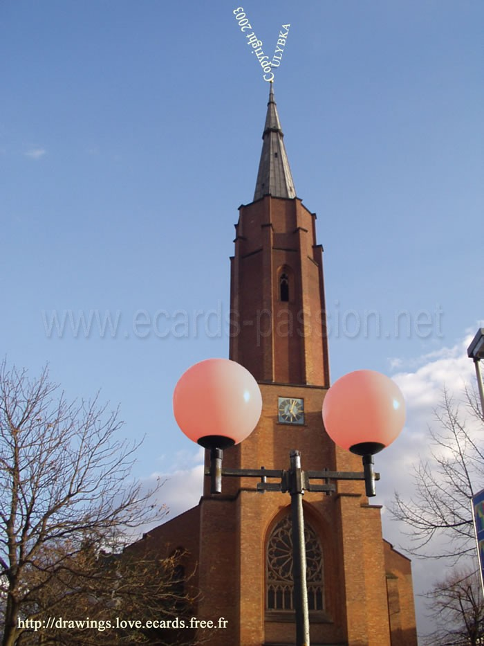 church looking like a penis; religious ejaculation; red lamp; religion and sex
