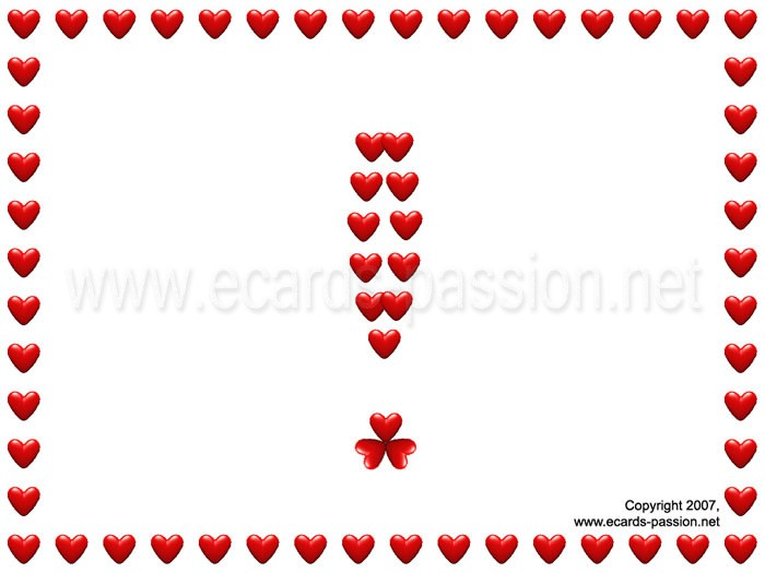 answer to love question; of course I love you; love exclamation mark
