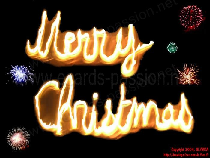 burning fire; fireworks; merry Christmas; warm wishes; Xmas
