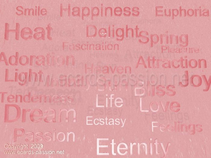 heat; optimism; love; passion; positive thinking