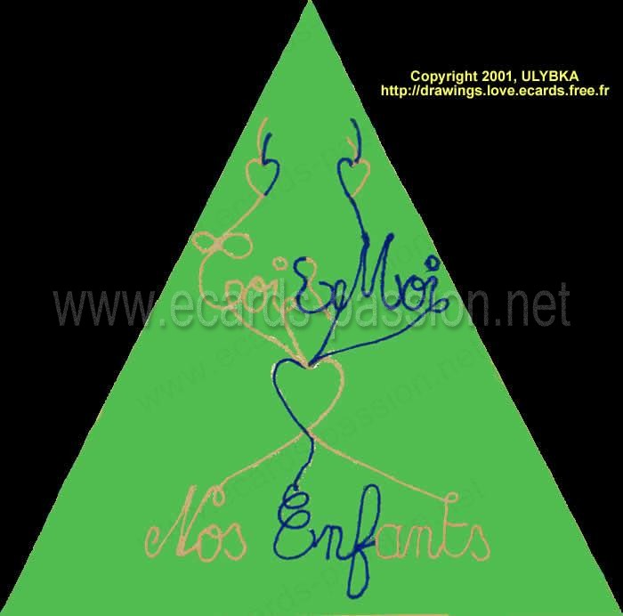 genealogical tree; you, me and our family; 3 generations: grand-parents; parents; children